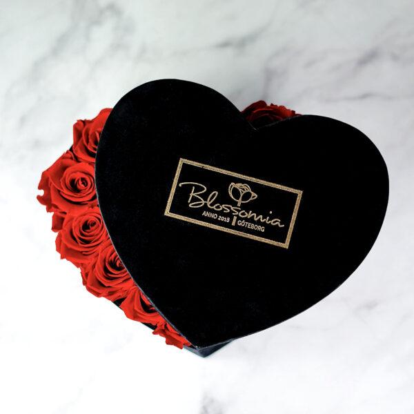 THE HEART OF ETERNITY – Red - Evighetsrosor - Velvet - Black Midnight - BEH1V01E1 - 3