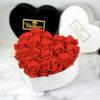 THE HEART OF ETERNITY – Red - Evighetsrosor - Velvet - Pearl White - BEH1V00E1 - 2