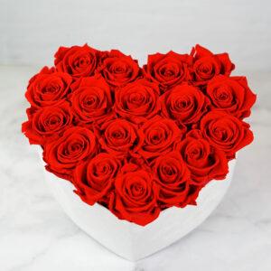 THE HEART OF ETERNITY – Red - Evighetsrosor - Velvet - Pearl White - BEH1V00E1 - 4