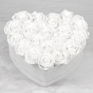 THE HEART OF ETERNITY – White - Evighetsrosor - Velvet - Pearl White - BEH1V00E2 - 5