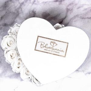 THE HEART OF ETERNITY – White - Evighetsrosor - Velvet - Pearl White - BEH1V00E2 - 2